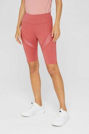 Short de sport - mottled light pink