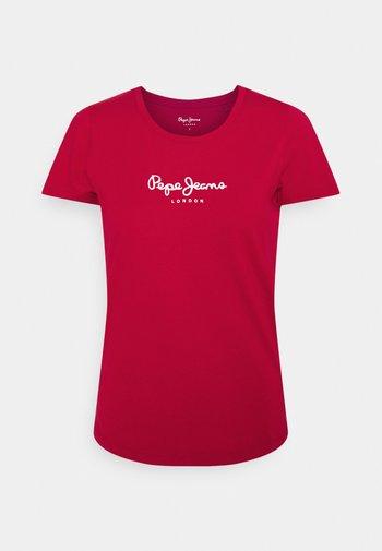 NEW VIRGINIA - Print T-shirt - winter red