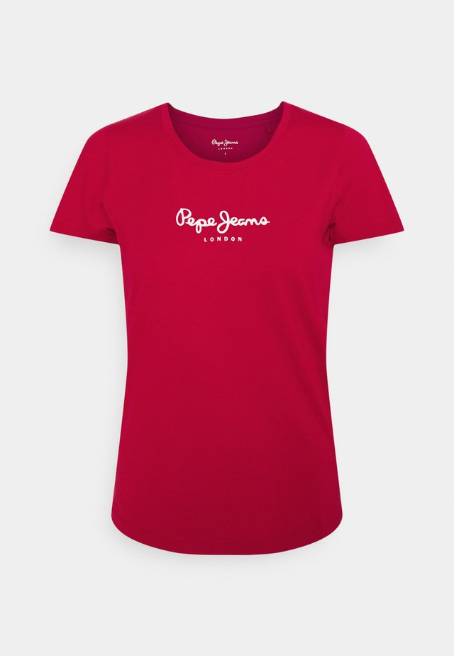 NEW VIRGINIA - T-shirts med print - winter red
