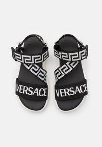 Versace - Sandals - black/white - 3