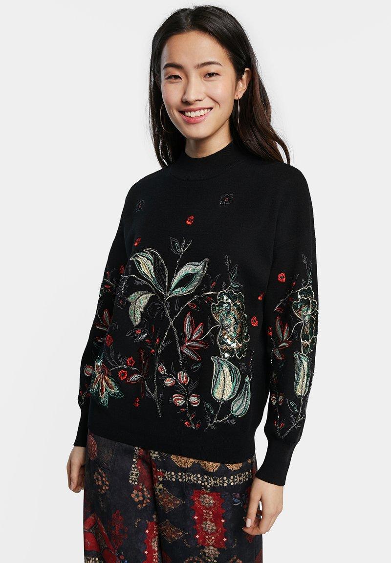 Desigual - DINANT - Sweter - black