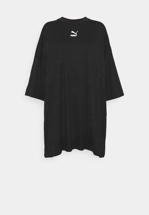 CLASSICS TEE DRESS - Jerseykjole - black