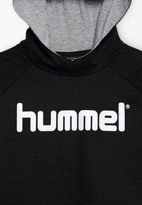 Hummel - LOGO HOODIE UNISEX - Hoodie - black - 4