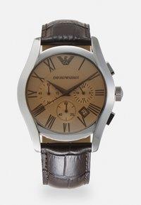 Emporio Armani - Hodinky se stopkami - brown - 0
