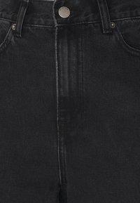 Dr.Denim Tall - ECHO - Jeans bootcut - concrete black ripped - 2
