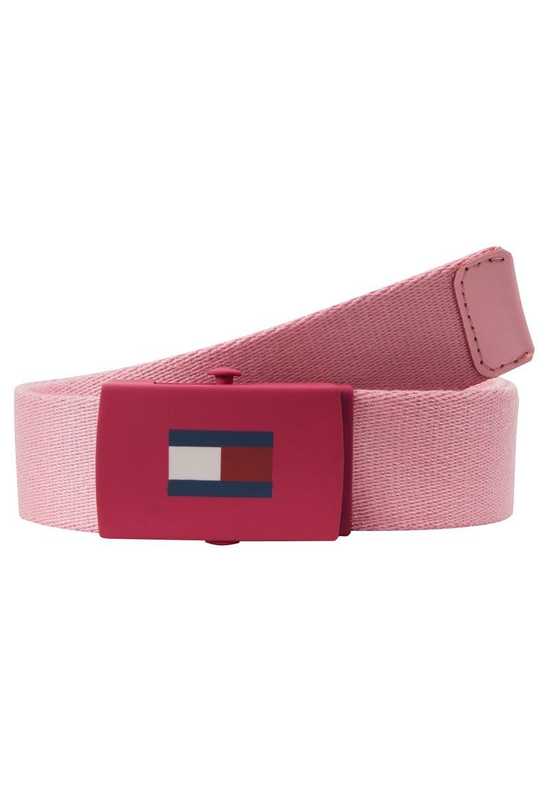 Tommy Hilfiger - KIDS PLAQUE BELT  - Riem - pink