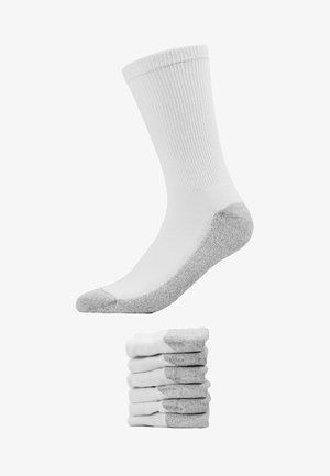 CREW SOCKS ECODIM SPORT 6 PACK - Calcetines - white