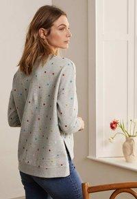 Boden - JASMINE  - Sweatshirt - grau meliert, polka-tupfen - 1