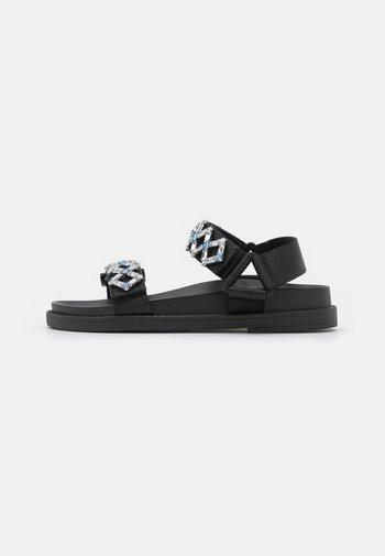 Sandals - black dark