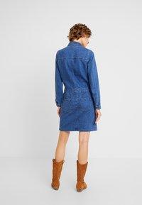 s.Oliver - KURZ - Denim dress - blue denim - 3