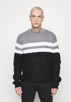 STRIP - Sweter - black