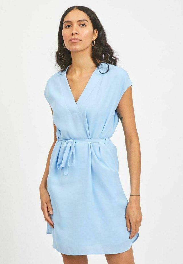 Korte jurk - blue bell
