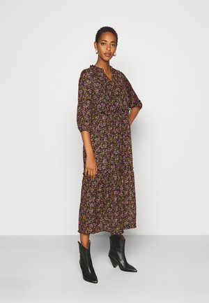 ONLCLARA LIFE MIDI DRESS  - Robe d'été - black/daze