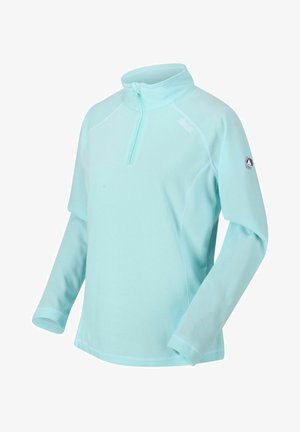 Fleece jumper - coolaqua/whi