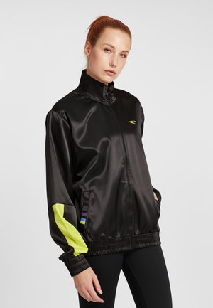 Training jacket - black out