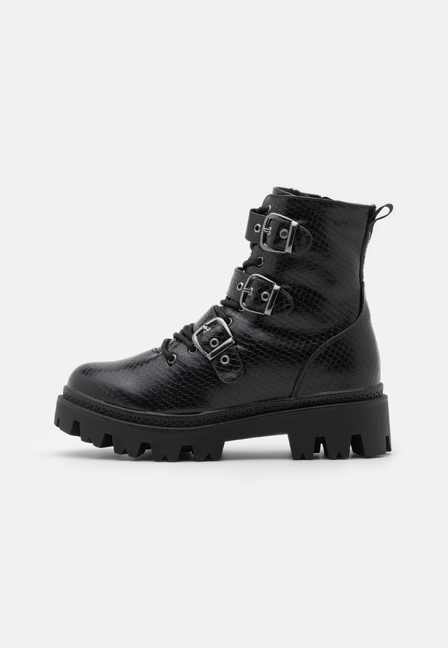 VMTONI BOOT - Cowboy/biker ankle boot - black