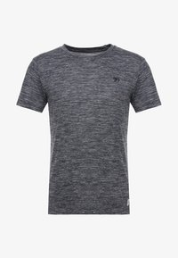 TOM TAILOR DENIM - Basic T-shirt - space dye blue - 3