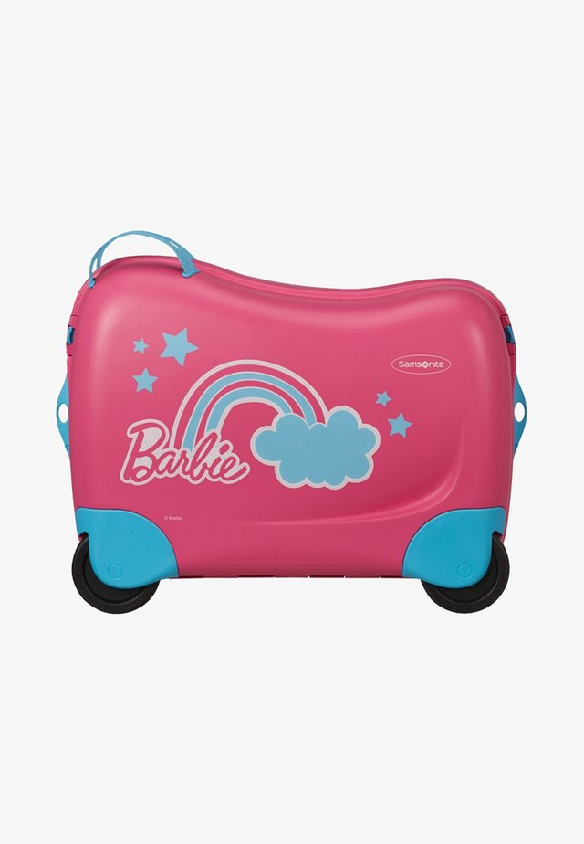 DREAM RIDER BARBIE - Wheeled suitcase - barbie pink dream