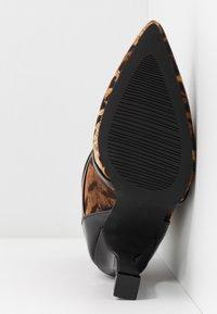 BEBO - LAVETA - High heeled ankle boots - black - 6