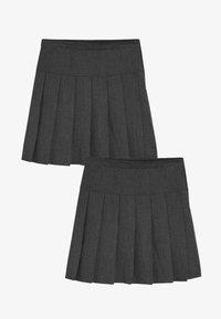 Next - 2 PACK - Áčková sukně - grey - 0