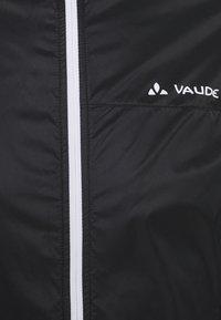 Vaude - MENS AIR JACKET III - Windbreaker - black - 2
