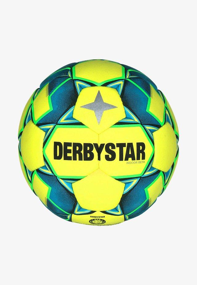 Voetbal - gelb / blau / grün