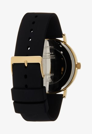 GENUINE DIAMOND - Orologio - gold-coloured/black