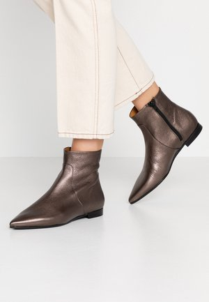Classic ankle boots - laminato smog