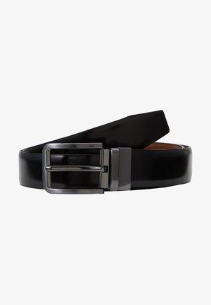 LEATHER - Cintura - brown/black