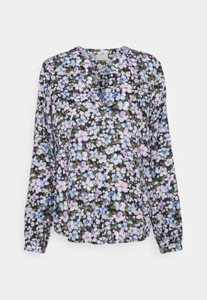 KAPANSY TILLY BLOUSE - Blouse - chambrey/lupine flower