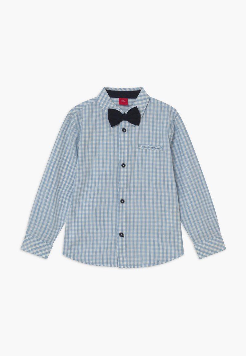 s.Oliver - LANGARM - Shirt - light blue