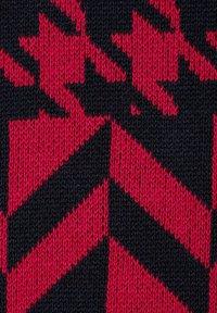 MONA - Jumper - rot marineblau - 6