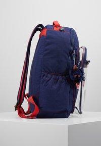 Kipling - SEOUL GO - School bag - polish blu/transparent - 4