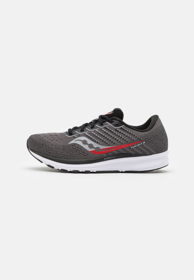 RIDE 13 - Scarpe running neutre - charcoal/red