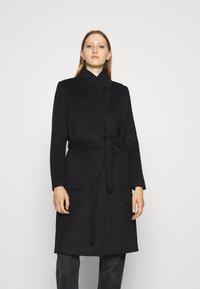 Bruuns Bazaar - JASMINA PERLE COAT - Klasický kabát - black - 0