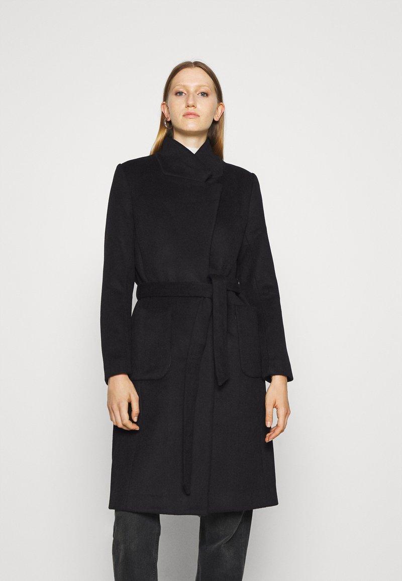 Bruuns Bazaar - JASMINA PERLE COAT - Klasický kabát - black