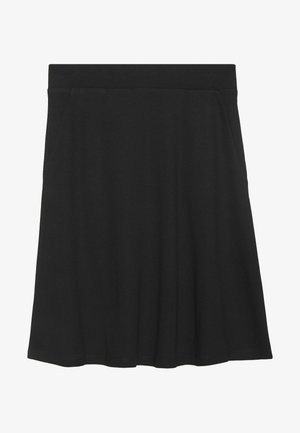 EASY SHAPE - A-line skirt - deep black