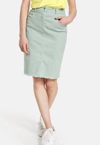 Gerry Weber - Pencil skirt - aqua grey - 0