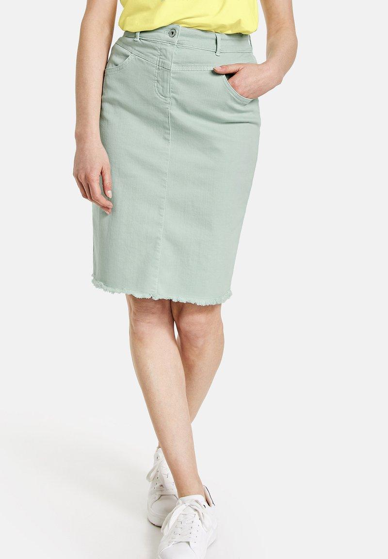 Gerry Weber - Pencil skirt - aqua grey