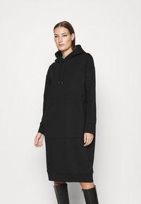 ARKET - DRESS - Day dress - black dark - 0