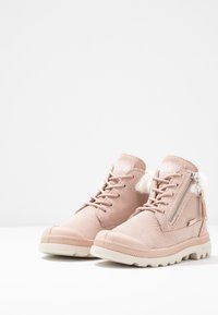 Palladium - MOSCOW LITE - Lace-up ankle boots - rose dust - 3