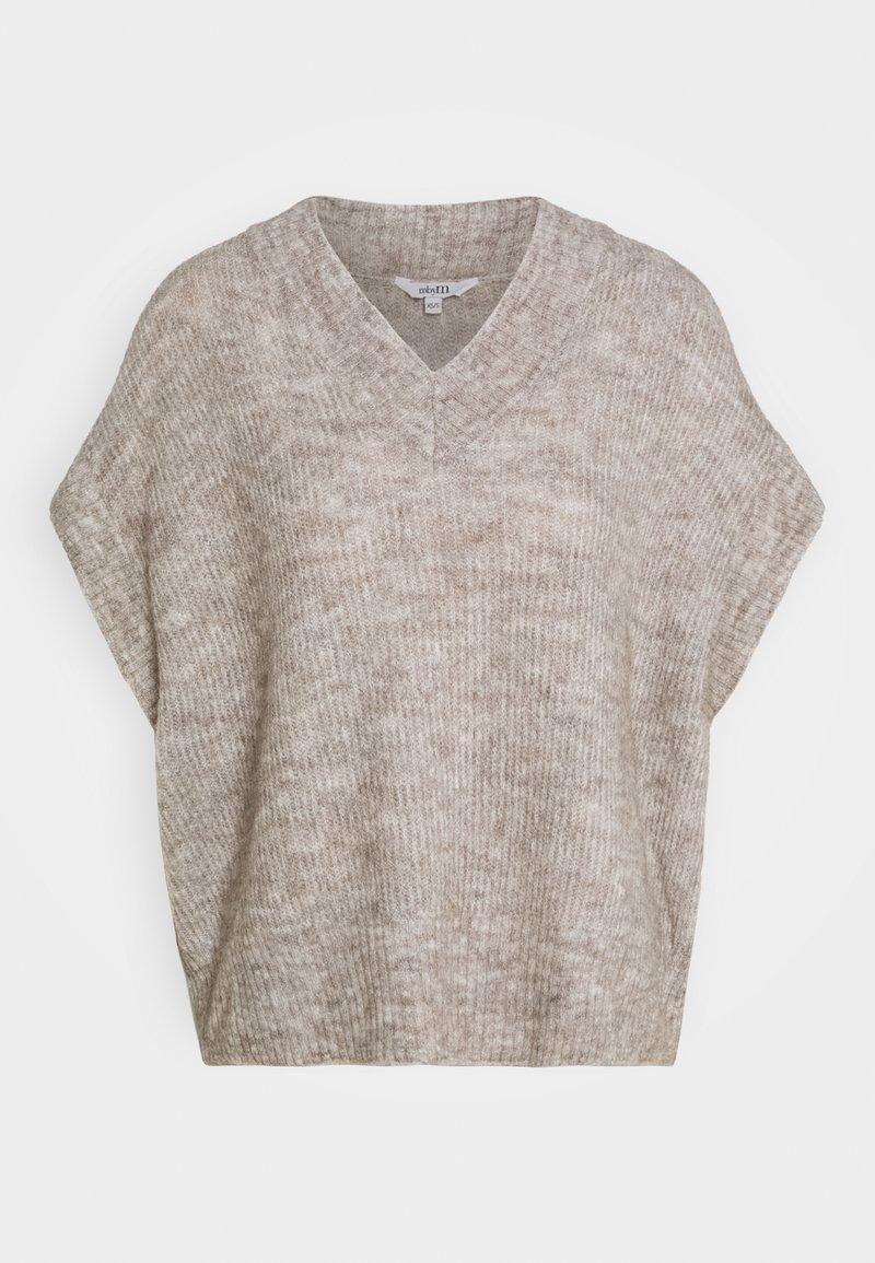 mbyM - KATYA - Jumper - grey sand melange