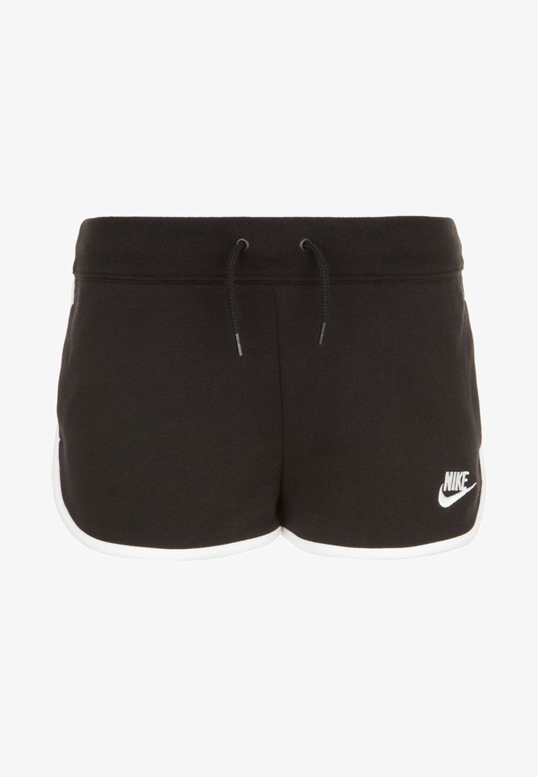 Nike Sportswear - HERITAGE  - Shorts - black / white