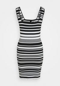 NIKKIE - JEAN DRESS - Jumper dress - white/black - 7