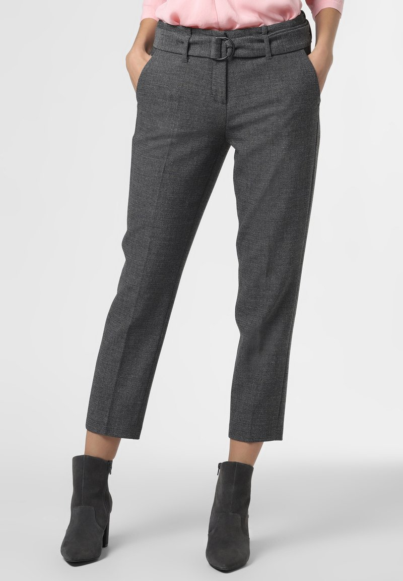 Cambio - Trousers - anthrazit