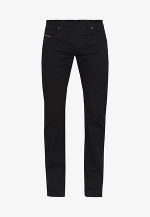 LARKEE - Straight leg jeans - black denim