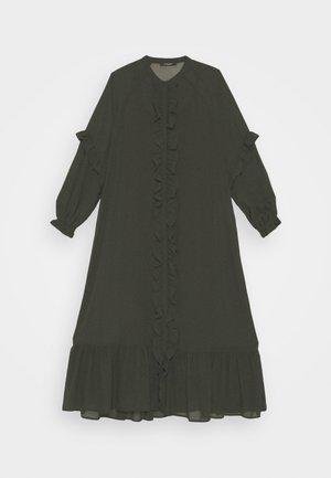 MILLEH IDOH DRESS - Denní šaty - green night