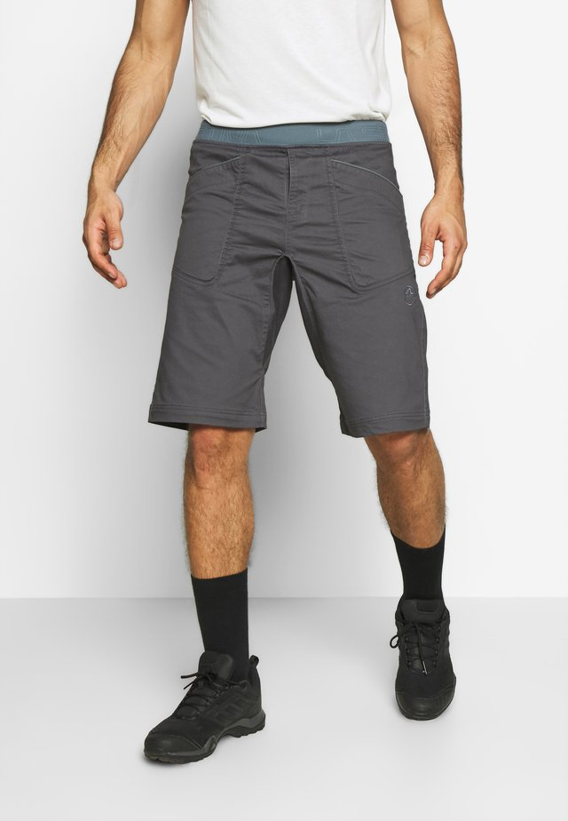 FLATANGER SHORT  - Sports shorts - carbon/slate