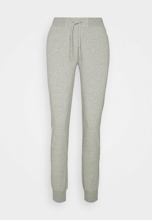 CUFF PANTS - Tracksuit bottoms - mottled grey