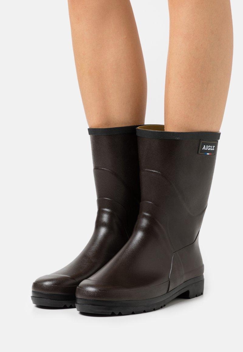 Aigle - BISON LADY  - Stivali di gomma - brun
